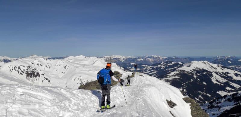 Pallspitze (2.389m), Kitzbühler Alpen, 26.2.2019
