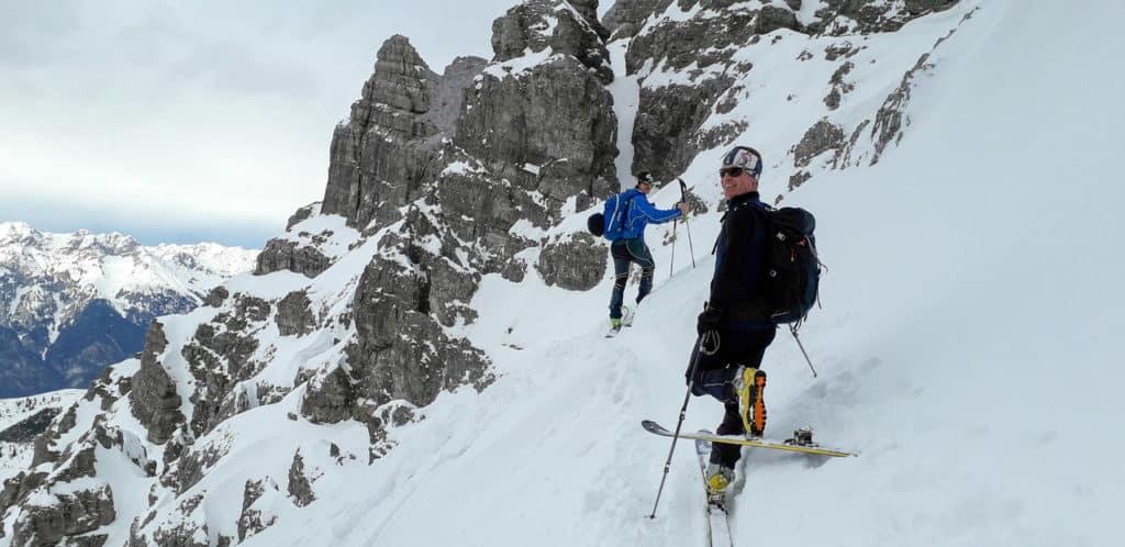 Ampferstein (2.556m), Axamer Lizum, 5.3.2019