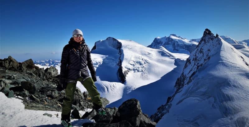 3 Tage In Der Schweiz: Strahlhorn, Fluchthorn, Allalinhorn, 23.3.2019