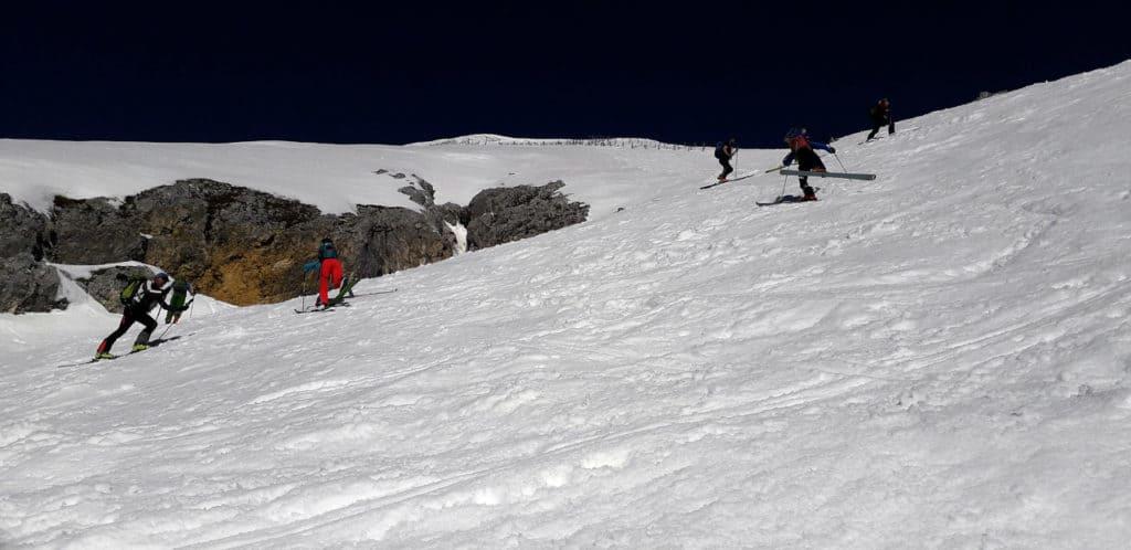 Hohe Munde (2.592m), Mieminger Gebirge, 24.3.2019