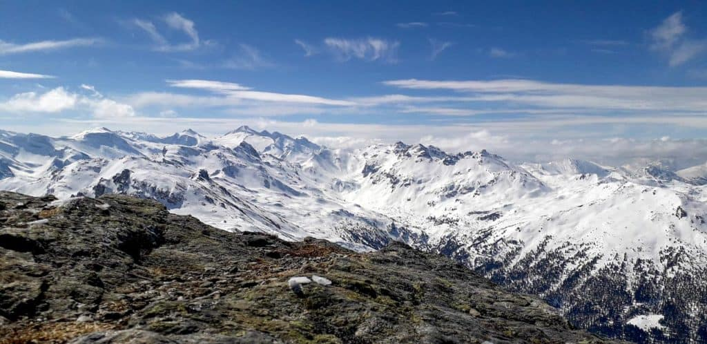 Hirzer (2.725m), Tuxer Alpen, 31.3.2019