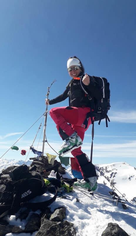 Gleirscher Fernerkogel (3.194m) über Rosskarscharte, Sellrain, 30.3.2019