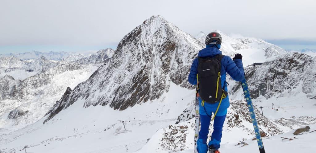 Namaste Am Stubaier Gletscher, 4.11.2019