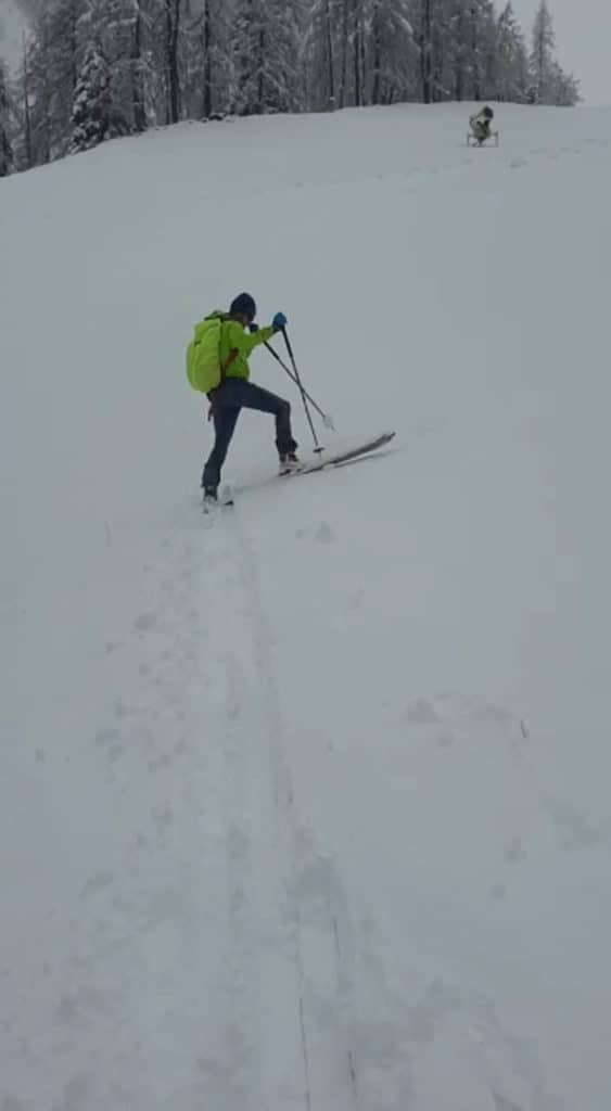 Hoadl (2.340m), Axamer Lizum, 5.11.2019