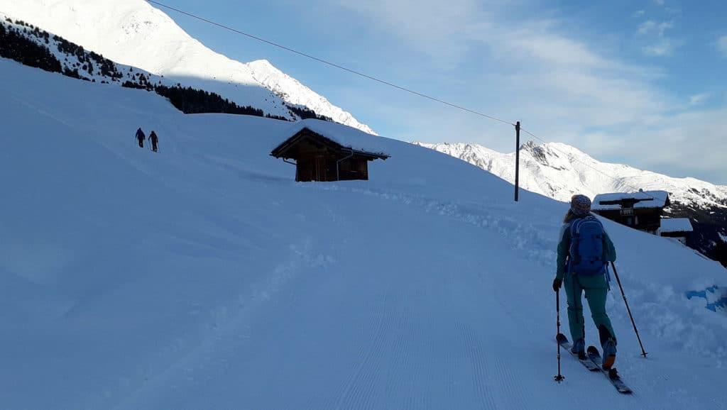Lampsenspitze (2.875m), Praxmar, Stubaier Alpen, 20.11.2019