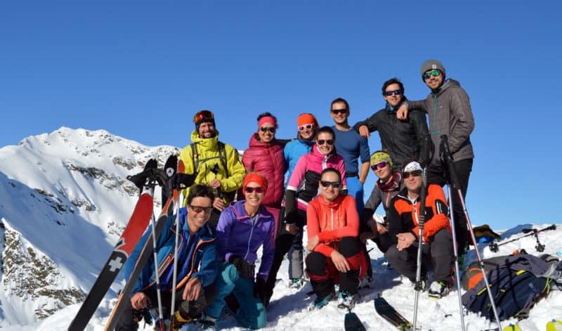 Ellesspitze (2.661m), Pflerschtal, Südtirol, 5.12.2019