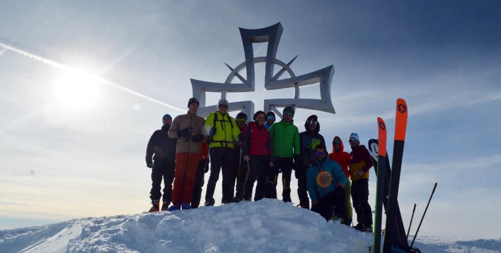 skitour hohe kreuzspitze