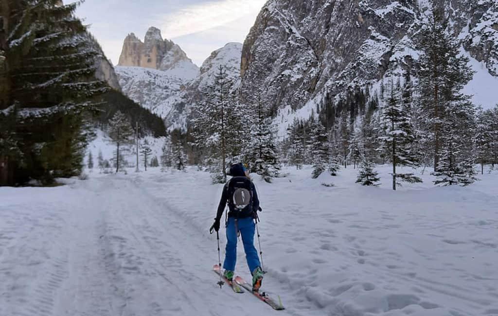 Großes Wildgrabenjoch (2.289 M), Sextener Dolomiten, Südtirol, 16.12.2019