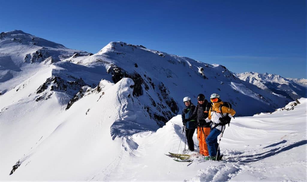 Seeblesspitze (2.628m), Tuxer Alpen, Navis, 29.12.2019