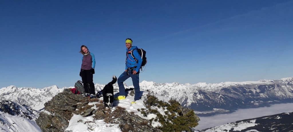 Wildofen (2.553 M), Innerst, Tuxer Alpen, 1.1.2020