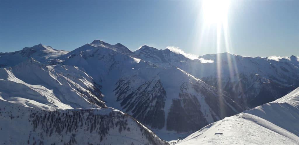 Naviser Kreuzjöchl (2.536m), Von Navis, 5.1.2020
