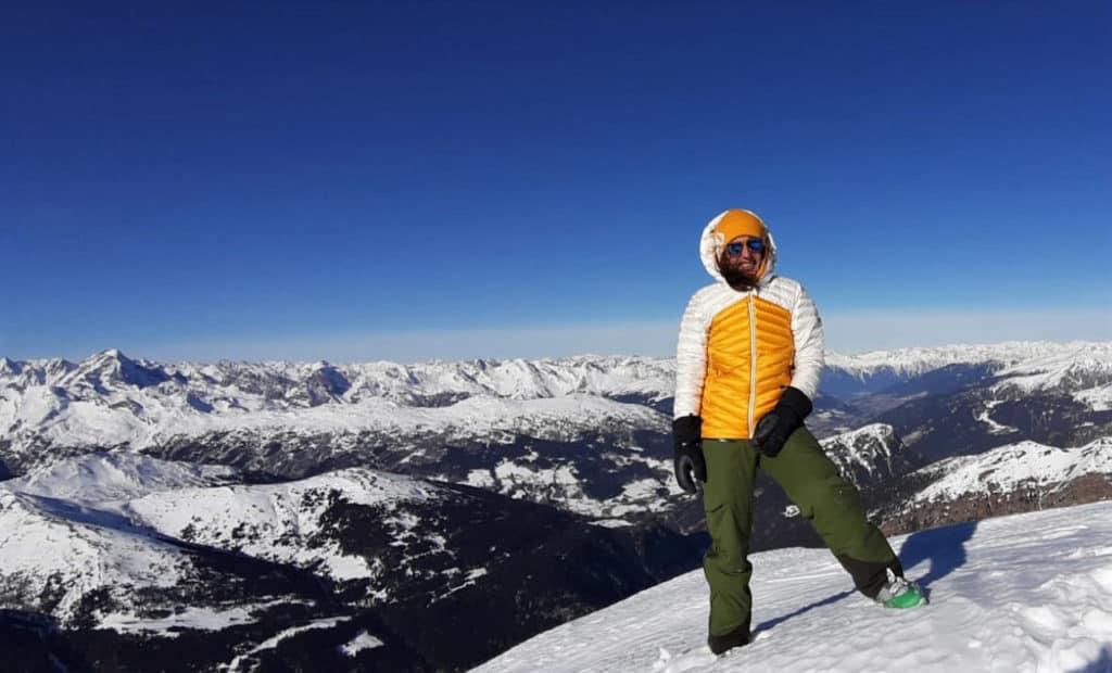 Wolfendorn (2.776m), Zillertaler Alpen, 12.1.2020