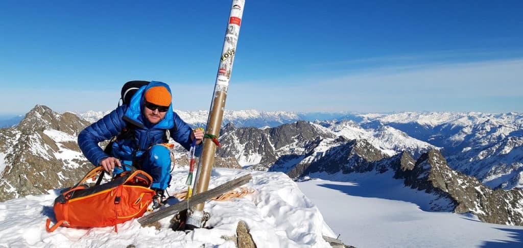 Hinterer Brunnenkogel (3.325m), Der Höchste Sellrainer, 14.1.2020