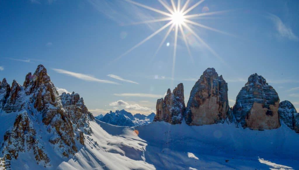 Sextner Stein (2.539m), Sextner Dolomiten, 19.1.2020