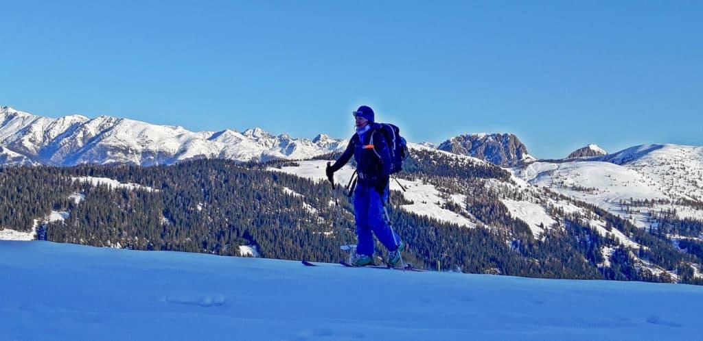 Öfenspitze (2334m), Osttirol, Karnischen Alpen, 20.2.2020