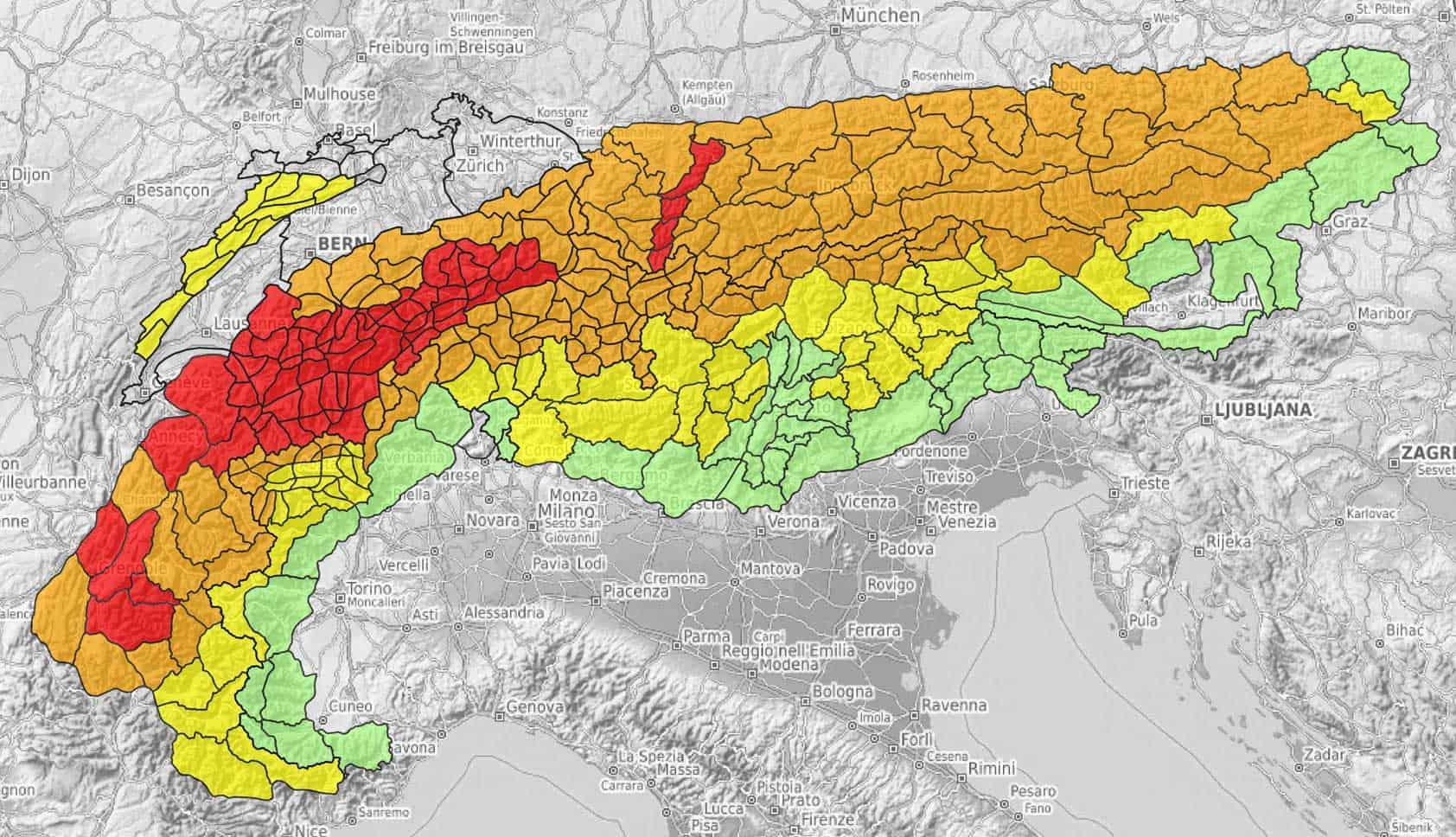 Initiative Für Eine Alpenweit Einheitliche Lawinen Prognose