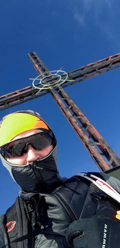 Lampsenspitze (2.875m), Sellraintal, 13.2.2020