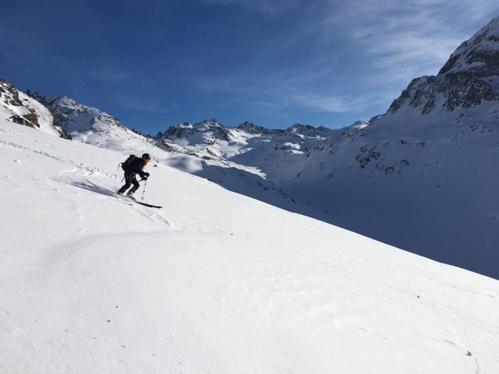 skitour bielerhoehe hennekopf