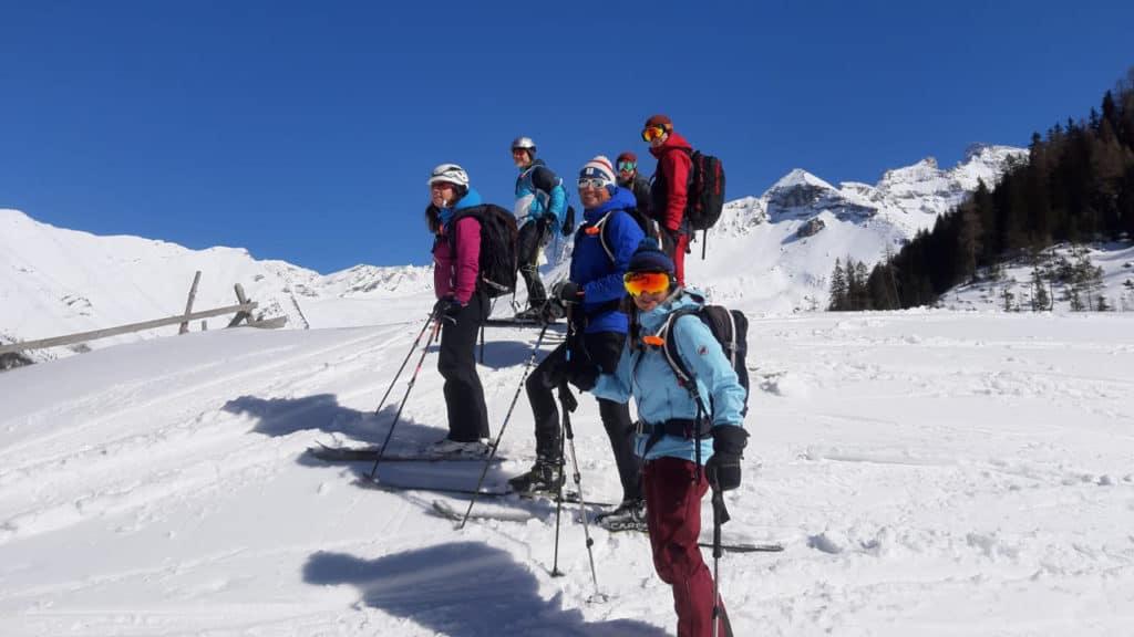 Sumpfschartl (2.625 M), Zillertaler Alpen, 8.3.2020